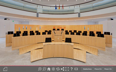 Virtuelle Tour Landtag Hessen