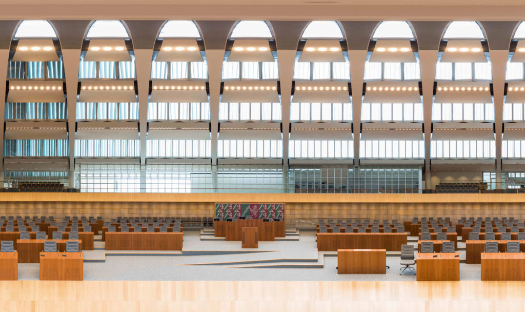 360° Plenarsaal Landtag NRW