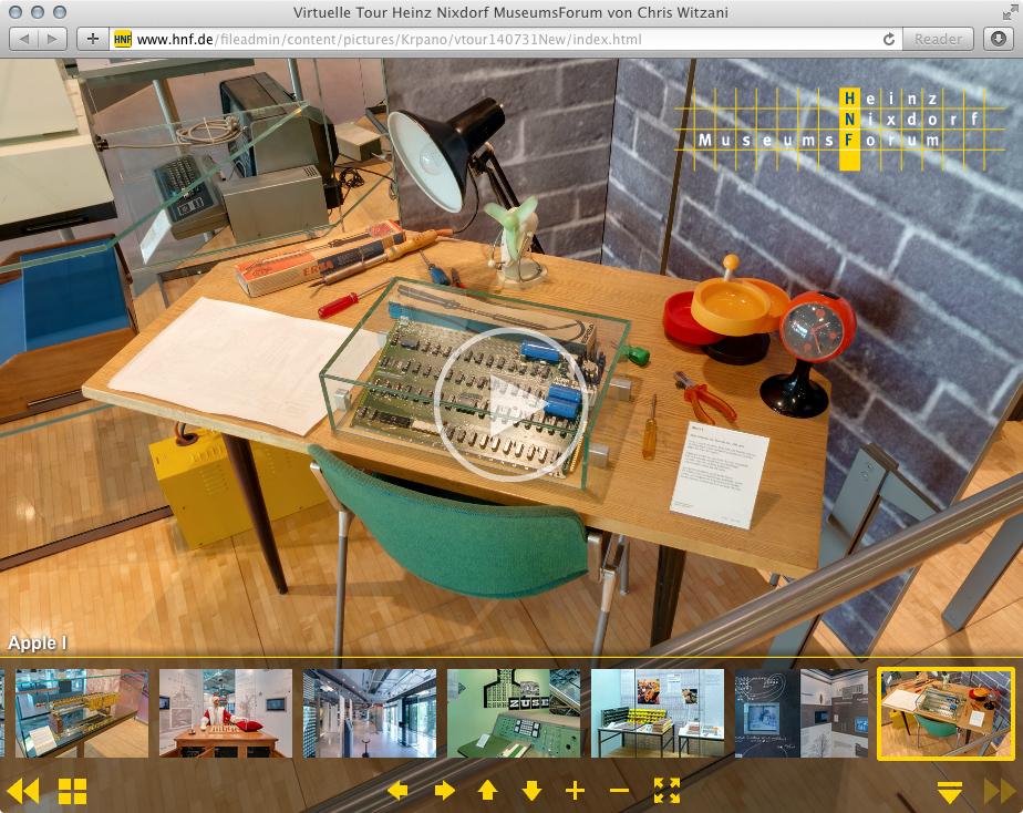 Virtuelle Tour durch das weltgrösste Computermuseum in Paderborn